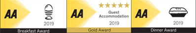 AA Gold Award 5 Star